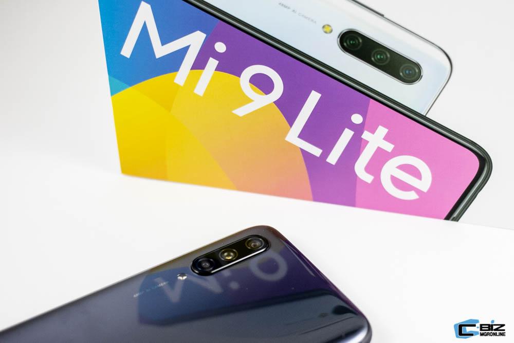 Review : Xiaomi Mi9 Lite สเปกดี ราคาประหยัด