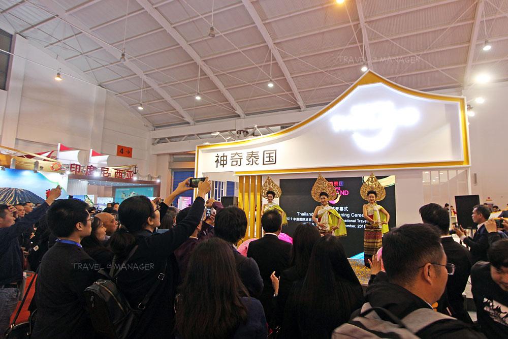 สื่อมวลชนชาวจีนให้ความสนใจกับการแสดงศิลปวัฒนธรรมไทย