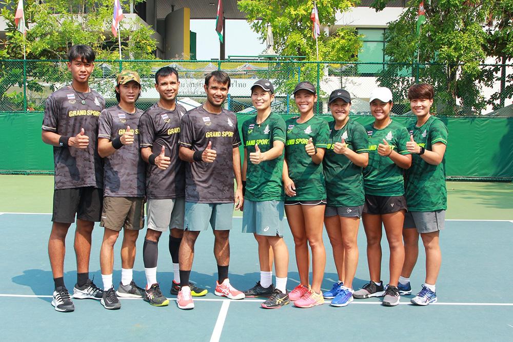 """""""พี่แทมมี่"""" นำทัพเทนนิสไทยล่า 3 เหรียญทองซีเกมส์"""