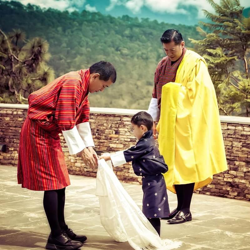 กิจกรรมสุดน่ารัก ของเจ้าชายพระองค์น้อยแห่งภูฏาน