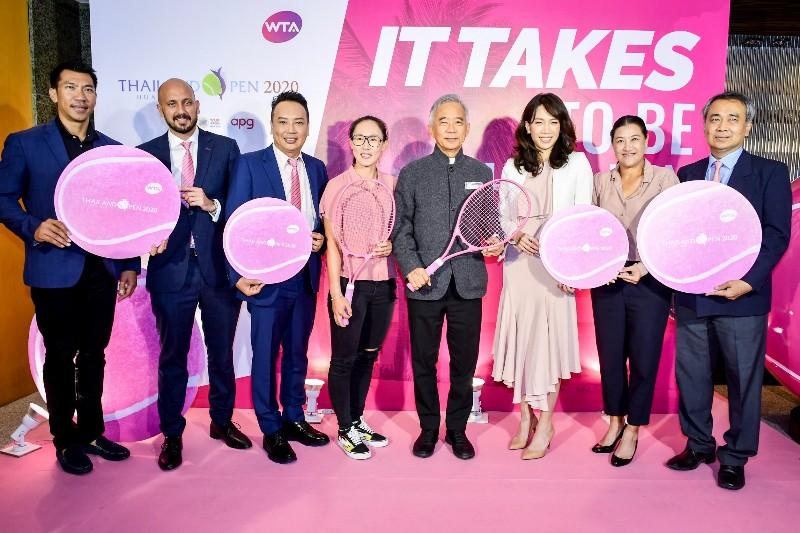 """""""สุวัจน์"""" ยันท็อป 20 ร่วมศึกเทนนิส ไทยแลนด์ โอเพ่น 2020 - รายได้ช่วยผู้ป่วยมะเร็งเต้านม"""