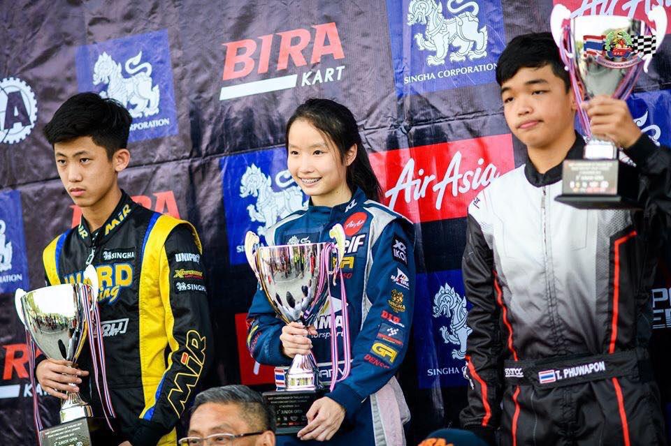 คว้าแชมป์ Kart Championship of Thailand 2019