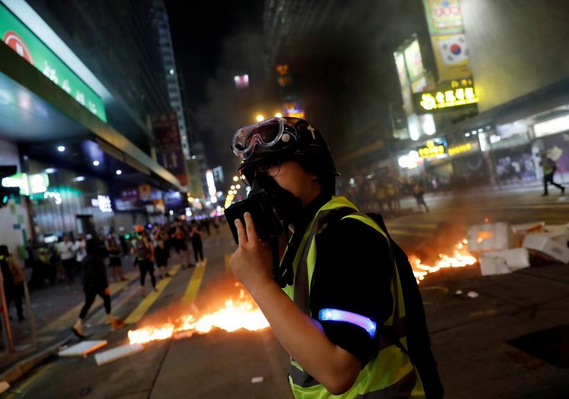 วุฒิสภาสหรัฐฯ ผ่านร่างกม.หนุน 'สิทธิมนุษยชน-ประชาธิปไตยฮ่องกง'