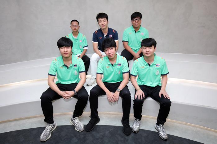 ทีมชาติไทยชุดลงแข่งเกม AOV