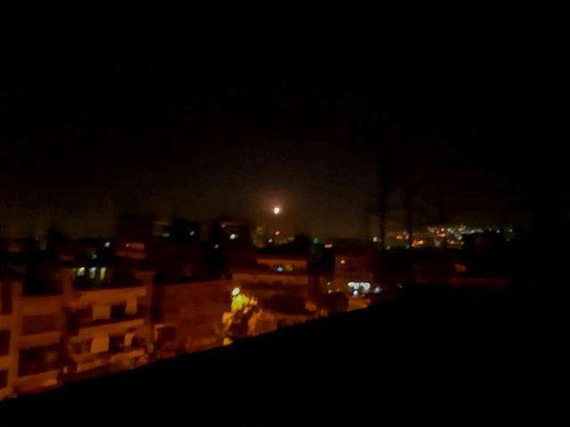 อิสราเอลใช้การโจมตีทางอากาศในซีเรีย ตอบโต้ที่โดนยิงจรวดใส่