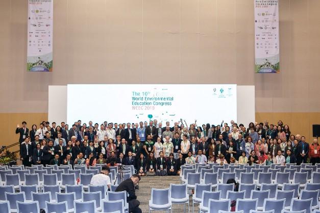 เปิดตัว Asia Environment Network  ในงานประชุมสิ่งแวดล้อมศึกษาโลกครั้งที่ 10 เพื่อขับเคลื่อนพัฒนาสิ่งแวดล้อมอย่างยั่งยืน