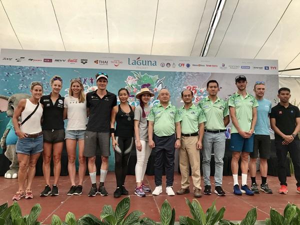 นักกีฬาไทย-ต่างชาติกว่า 2 พันคน ร่วมแข่งขัน ลากูน่าภูเก็ตไตรกีฬา ชิงเงินรางวัลกว่า 6 แสนบาท