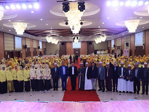 ศอ.บต.ร่วมกับ องค์กรสมาพันธ์สตรีมุสลิมแห่งประเทศไทย นำผู้นำสตรีมุสลิมเข้าอบรมพัฒนาศักยภาพ