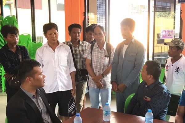 ทูตแรงงานเมียนมาติดตามการให้การช่วยเหลือเยียวยาแรงงานพม่า บาดเจ็บ-เสียชีวิต จากอาคารถล่ม