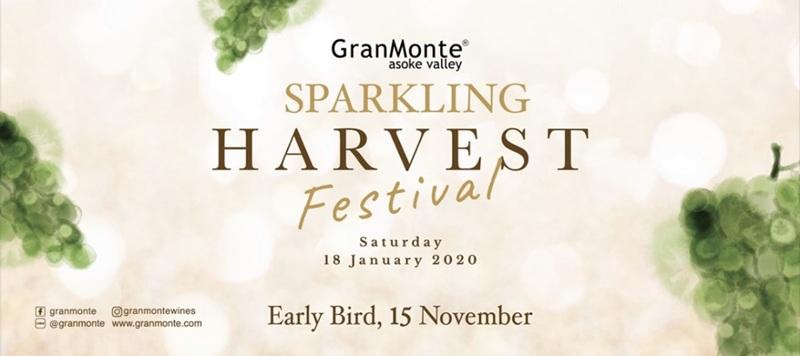 """สัมผัสประสบการณ์สุดพิเศษ กับ """"GranMonte Sparkling Harvest Festival 2020"""""""