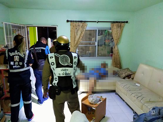 หนุ่มใหญ่ถูกยิงปริศนาเสียชีวิตคาบ้านพัก ย่านคลองหลวง