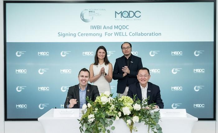 MQDC ลงนามความร่วมมือ IWBI   ชูมาตรฐาน WELL Building Standard