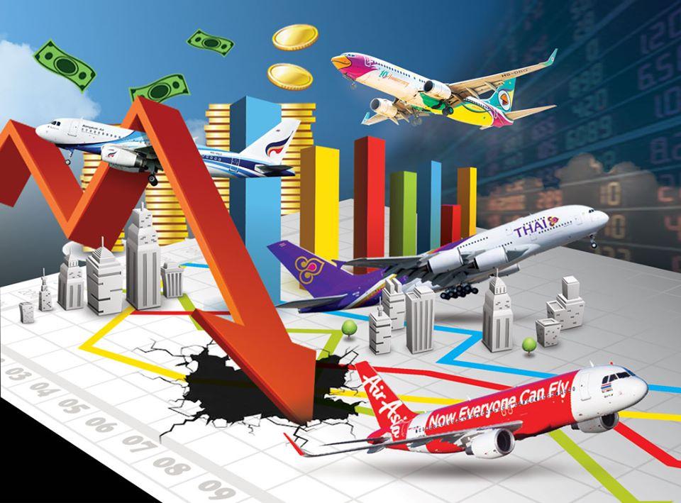 หุ้นสายการบินวิกฤตหนัก 9 เดือนปี 62 ขาดทุนถ้วนหน้า