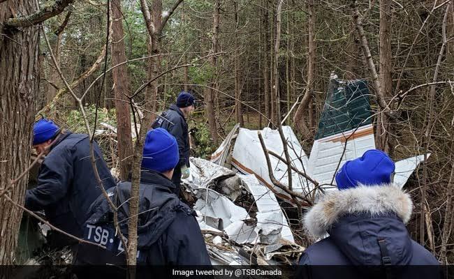 สลด! เครื่องบินเล็กตกในแคนาดา สังเวย 7 ศพ