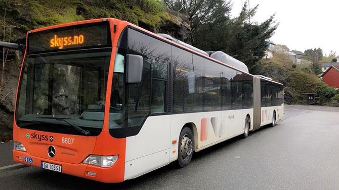 รถเมล์พ่วง ความยาว 18.75 เมตร