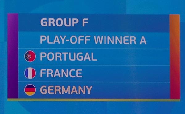 """""""ฝอยทอง"""" อ้วก!! ปะทะ """"ฝรั่งเศส-เยอรมนี"""" แบ่งสายยูโร """"สิงโต"""" เหนื่อยรอบ 16 ทีม"""
