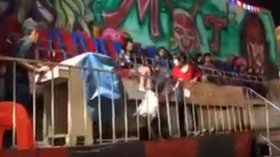คืบหน้าเครซี่เวฟเหวี่ยงที่ลพบุรี บาดเจ็บ 4 ราย-เด็กวัย 13 ขาหัก สั่งปิดเครื่องเล่นชั่วคราว