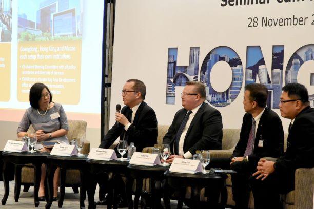 คณะนักธุรกิจฮ่องกงเยือนไทยสนใจลงทุนโครงสร้างพื้นฐาน-ดิจิทัล