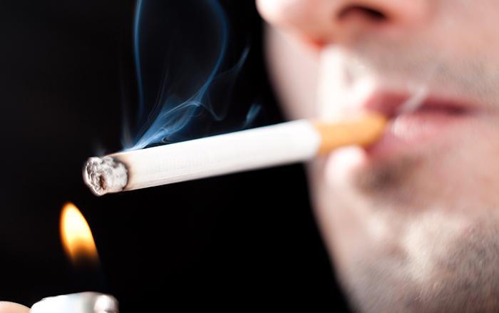 สูบบุหรี่จัด ระวังปอดรั่ว