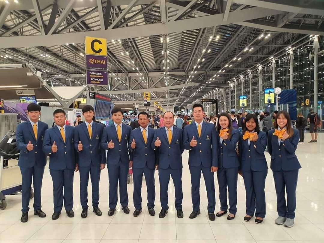 ทีมสวิงไทยเดินทางสู้ศึกซีเกมส์ฟิลิปปินส์