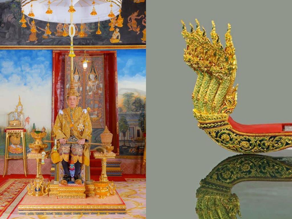ในหลวง โปรดเกล้าฯ ให้เชิญพระพุทธปฎิมาชัยวัฒน์รัชกาลที่ ๙ ประดิษฐานบนเรือพระที่นั่งอนันตนาคราช