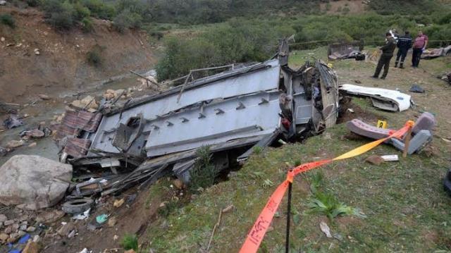 สลด! รถบัสพุ่งตกหุบเขาในตูนิเซีย สังเวย 26 ศพ