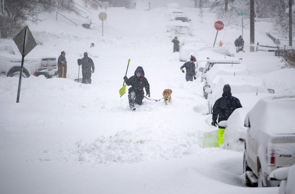 มรสุมเล่นงานฝั่งตะวันออกเฉียงเหนือของสหรัฐฯ หิมะตกหนัก-ยกเลิกเที่ยวบิน