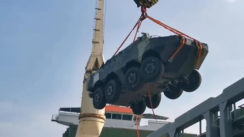 รถเกราะ VN1-รถถังVT-4 จีนส่งถึงไทยแล้ว เตรียมทดสอบและใช้ในพิธีถวายสัตย์
