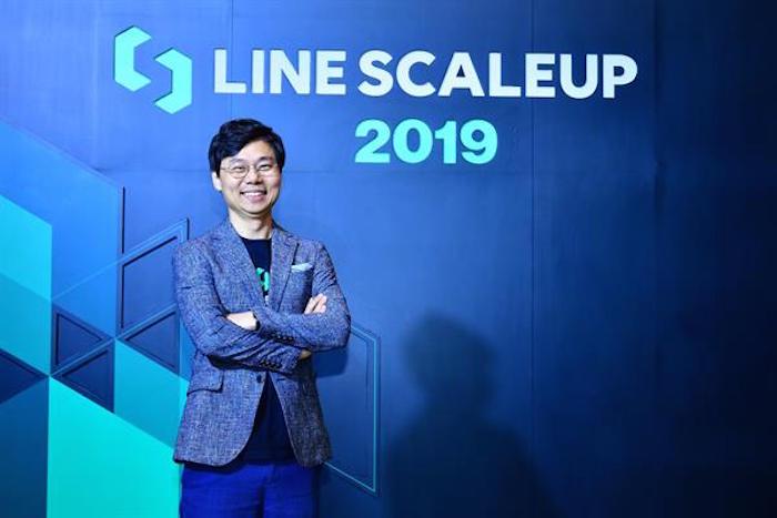 เจเดน คัง ระบุว่า LINE ScaleUp 2020 ในปีหน้าจะเน้นการดำเนินงาน 2 รูปแบบ ทั้งงานช่วยดันสตาร์ทอัปไทยให้ขยายตัวและงานยกระดับแพลตฟอร์มเพื่อดึงสตาร์ทอัปต่างประเทศเข้ามาเจาะตลาดไทย