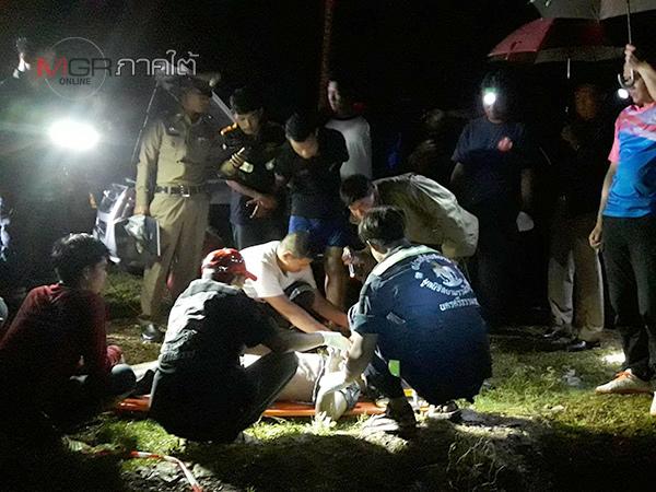 แทบช็อก! พรานเบ็ดเมืองคอนเกี่ยวได้ศพ ตร.คาดมาตกปลาแต่พลาดท่าจมน้ำเสียชีวิต