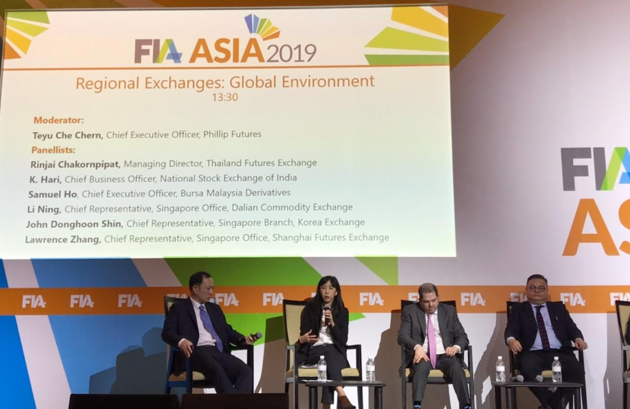 TFEX เดินหน้าขยายฐานผู้ลงทุนต่างชาติในงาน FIA ASIA 2019 ประเทศสิงคโปร์