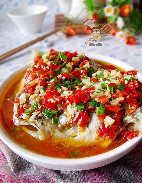 หัวปลาพริกดองเหล้าหูหนาน ขอบคุณภาพจาก https://home.meishichina.com/recipe-11501.html