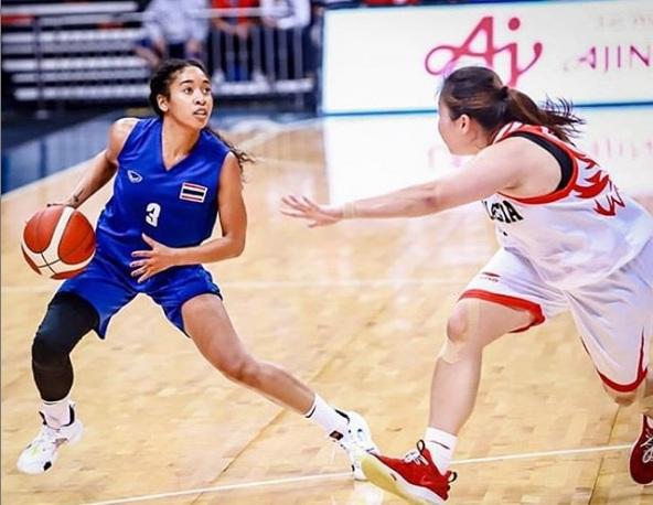 """รู้จัก """"ทิฟฟานี"""" ยัดห่วงสาวลูกครึ่ง ดีกรีแชมป์ WNBA ซุปตาร์ดวงใหม่วงการบาสไทย"""