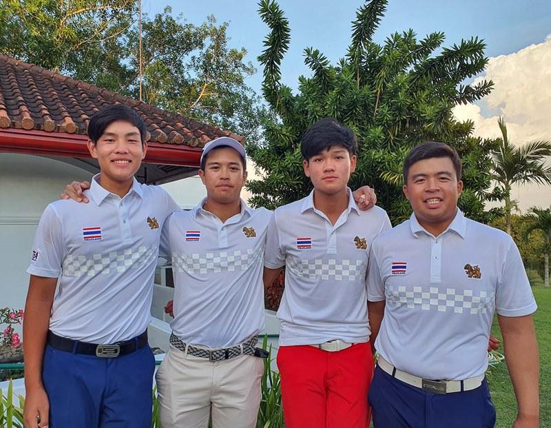 ทีมสวิงหนุ่มไทยเข้าชิงทองซีเกมส์ที่ฟิลิปปินส์