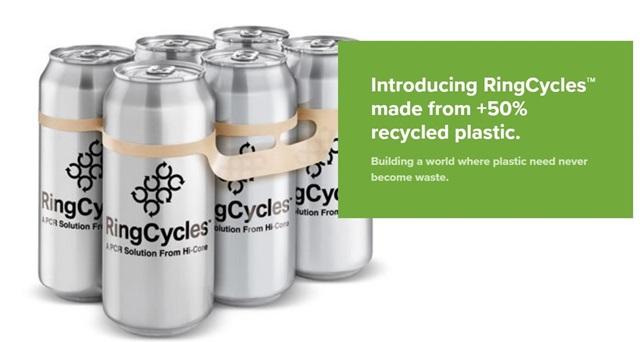 หูหิ้วเบียร์รีไซเคิลได้!  Hi-Cone ผู้ผลิตแพ็กเกจอังกฤษเสนอให้คอเบียร์ร่วมรักษ์โลก