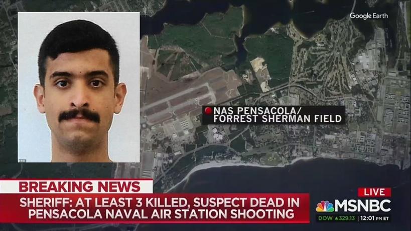 In Clip: FBI ล่าตัวทหารซาอุฯที่เหลือหลังควบคุมตัว 10 นายในฐานทัพเรือรัฐฟลอริดา 1 วันหลังทหารอากาศซาอุฯกราดยิงคาชั้นเรียน ดับ 3