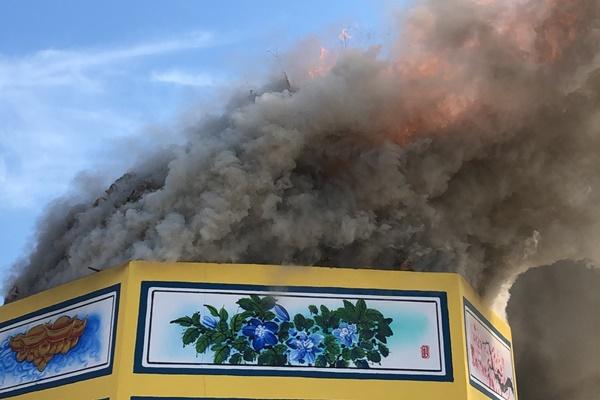 มูลนิธิกุศลธรรมภูเก็ตประกอบพิธึเผาศพไร้ญาติ กว่า 900 ราย ปลดปล่อย 6,000 วิญญาณ