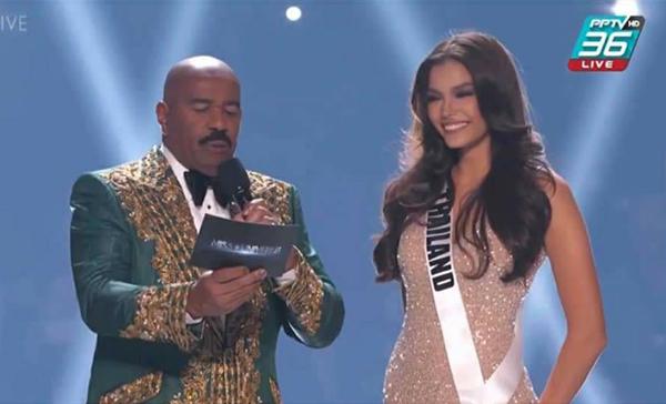"""""""ฟ้าใส"""" ฉลุย เข้ารอบ TOP 20 Miss Universe 2019"""