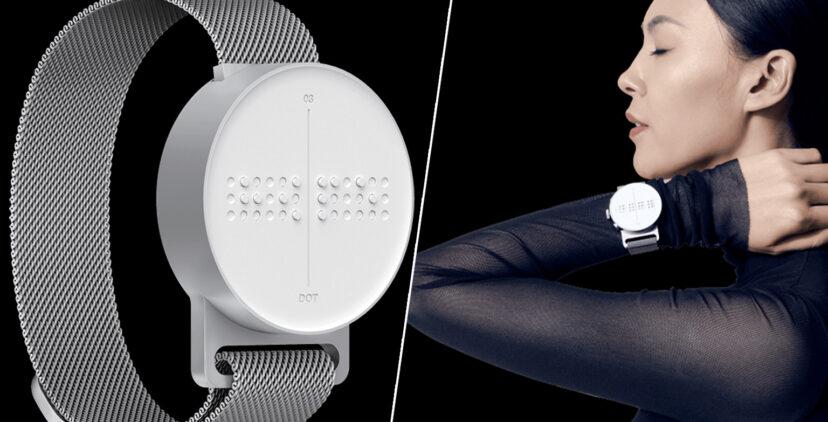 Dot Watch เกาหลีชูสมาร์ทว็อตช์อักษรเบรลล์ เพื่อคนตาบอดตัวแรกของโลก