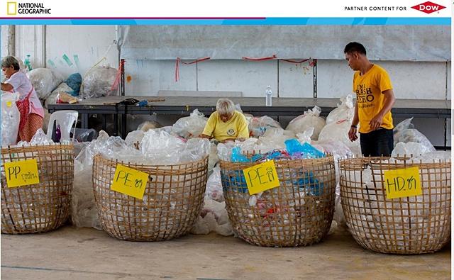 """กลุ่มดาว ชู'วังหว้า' ชุมชนต้นแบบ """"เปลี่ยนขยะมาใช้ประโยชน์อย่างครบวงจร"""""""
