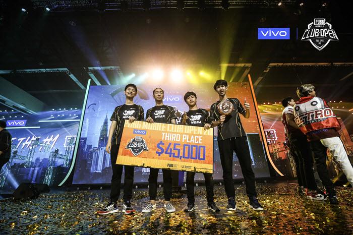 ทีม Mega Conqueror ตัวแทนไทยคว้าอันดับ 3