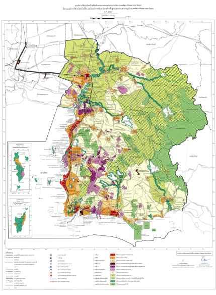 ประกาศแผนผังใช้ประโยชน์ในที่ดิน-พัฒนาโครงสร้างพื้นฐาน/สาธารณูปโภค ฉบับอีอีซี ลดพื้นที่เกษตร 8% เพิ่มพื้นที่เมือง 3%