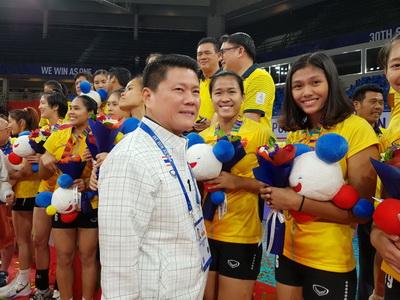 กมธ.กีฬาชื่นชมตบสาวไทย แชมป์สมัย 14  ย้ำความมีวินัยเป็นต้นแบบนักกีฬาอาชีพ