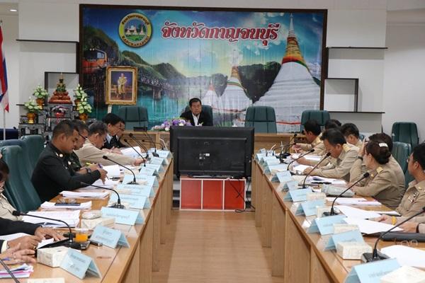 รมช .มหาดไทยลงพื้นที่เมืองกาญจน์  มอบนโยบายการขับเคลื่อนการดำเนินงานความปลอดภัย