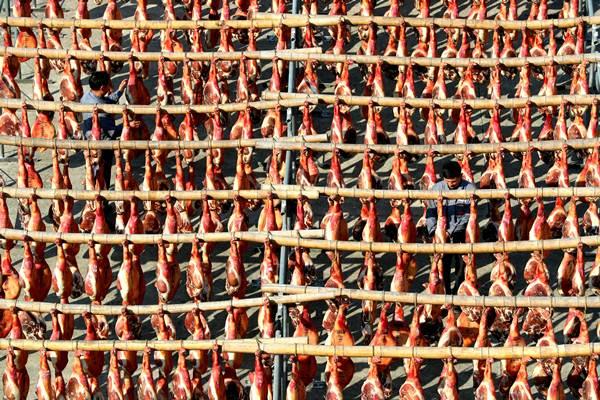 ราคาเนื้อหมูจีนดีดตัว 110 เปอร์เซ็นต์ ดันดัชนีราคาผู้บริโภคกระฉูดในรอบ 8 ปี