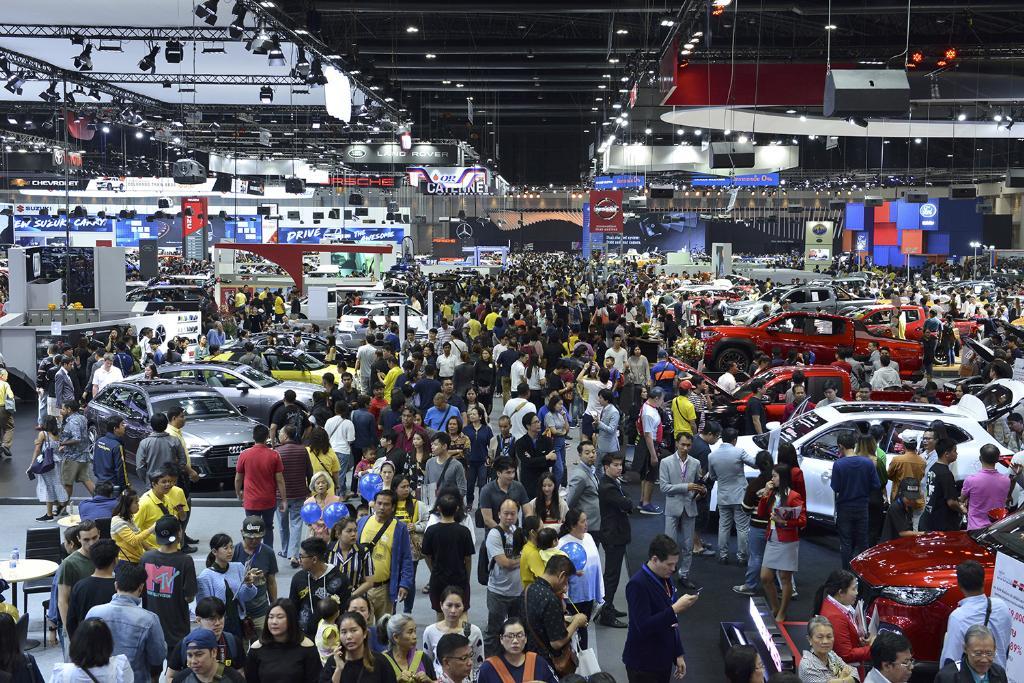 มอเตอร์ เอ็กซ์โป จบด้วยยอดจองรถรวม 44,740 คัน ลดลง 16.2% เงินหมุนเวียน 5 หมื่นล้านบาท