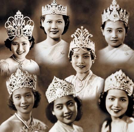 นางสาวไทยในปีต่อมา มงกุฎน่าจะเป็นต้นแบบของมงกุฎ miss universe ใน ปีนี้