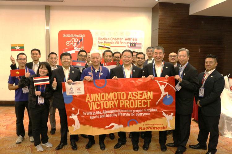 อายิโนะโมะโต๊ะร่วมสนับสนุนทัพนักกีฬาวอลเลย์บอลหญิงทีมชาติไทยในกีฬาซีเกมส์ครั้งที่ 30
