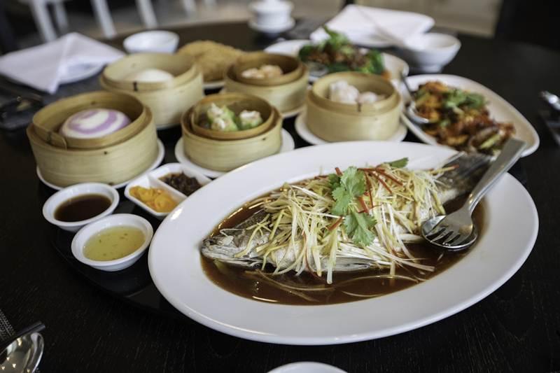 เมนูอาหารจีน ห้องอาหาร Tapestry Restaurant