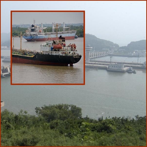 "In Clip: มาเลย์ยึด ""เรือบรรทุกน้ำมันเวียดนาม"" ที่เคยเข้าเกาหลีเหนือเมื่อต้นปี"